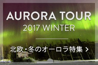 北欧・冬のオーロラ特集