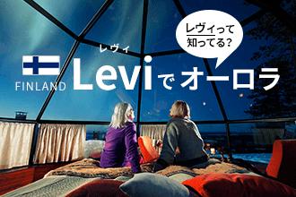 レヴィって知ってる?フィンランド Leviでオーロラ