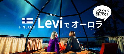 レヴィって知ってる?Leviでオーロラ