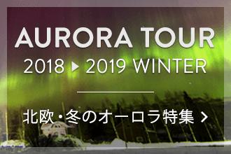 2018 北欧・冬のオーロラ特集