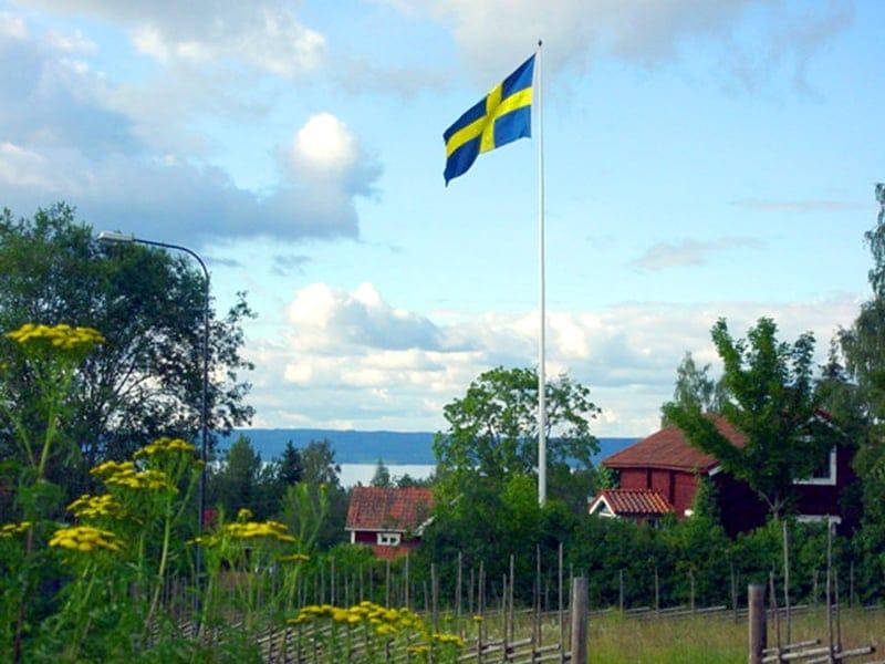 スウェーデン・ダーラナ地方の景色_b