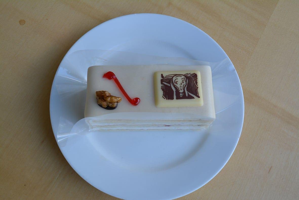 ムンクケーキ