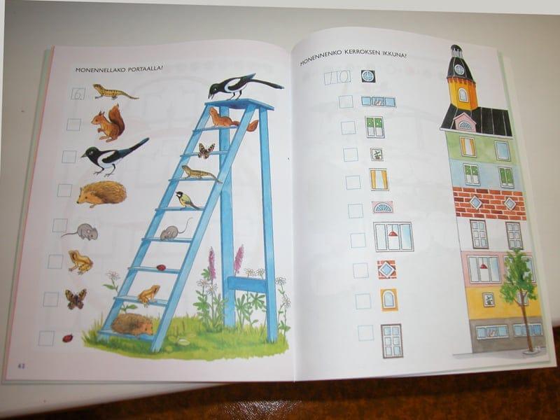 小学校就学前のプリスクールで使用する教科書サンプル_B