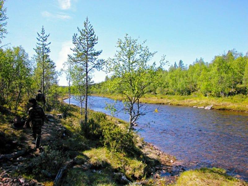 サーリセルカで自然を満喫B