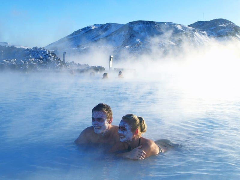 世界最大級の露天風呂 ブルーラグーン_B