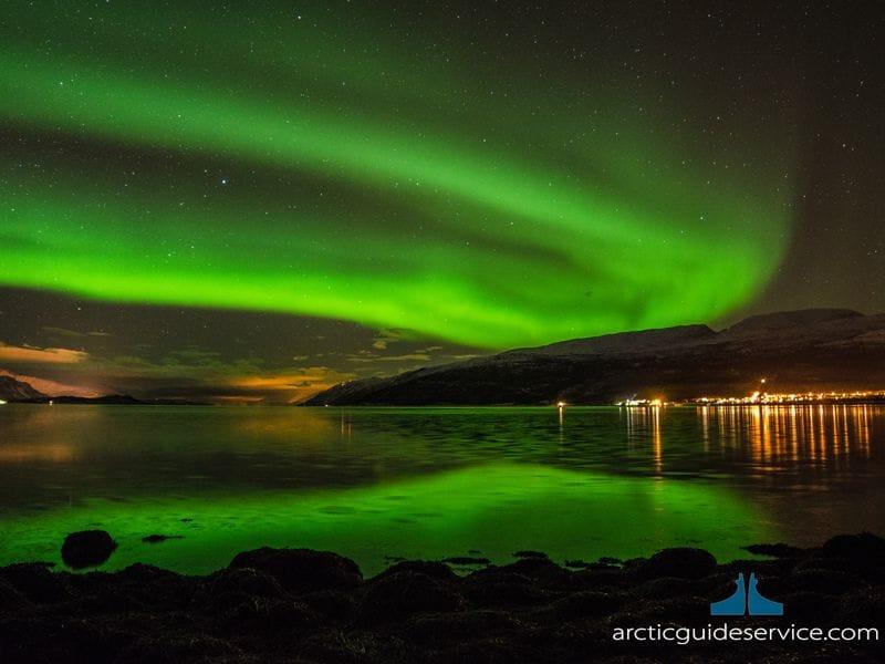 オプショナル オーロラハンティング Photo Arctic Guide Service_compressed