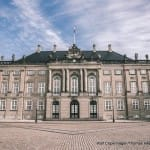 Amalienborg is considered one of the greatest works of Danish Rococco architecture and was constructed in the 1700's.  Amalienborg is made up of four identical buildings - Christian VII's Palace (also known as Moltke's Palace, used as guest residence), Christian VIII's Palace (also known as Levetzau' Palace, used as guest palace for Prince Joachim and Princess Benedikte), Frederik VIII's Palace (also known as Brockdorff's Palace, home of the Crown Prince family), and Christian IX's Palace (also known as Schack's Palace, home of the Queen and Prince Consort). In the middle of the palace square there is a statue of King Frederik V from 1771.
