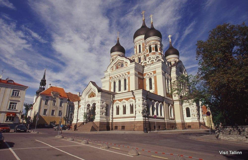 タリン アレクサンドル・ネフスキー聖堂
