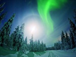 オーロラ フィンランド