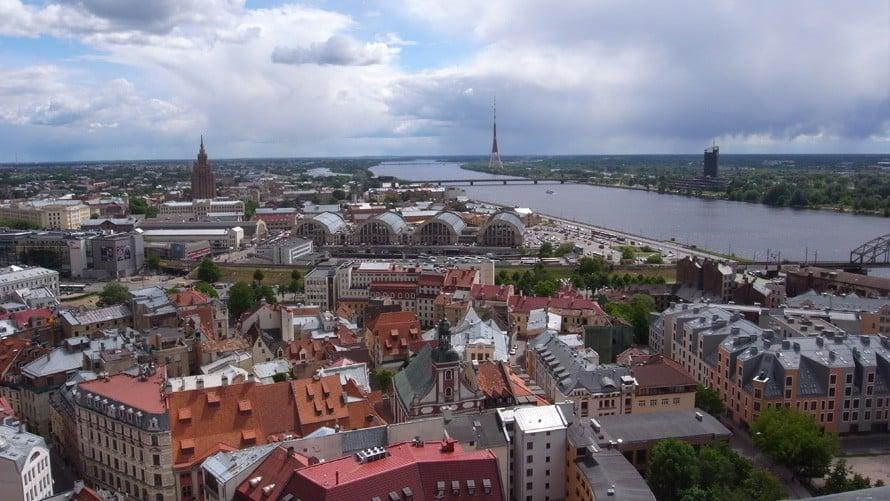 ラトビアの風景