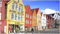 ブリッゲン(Bryggen)地区