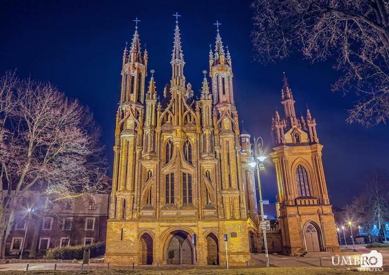 ヴィリニュス アンナ教会