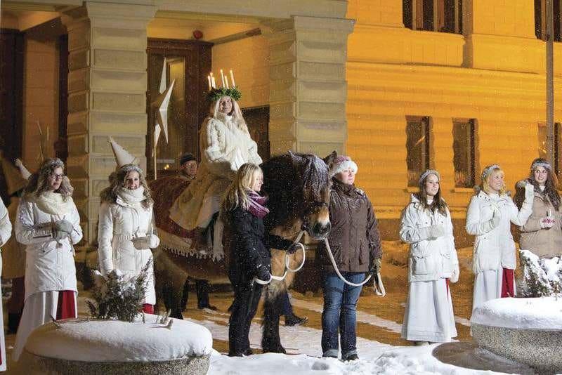 ヘルシンキ ルシア祭 クリスマスマーケット