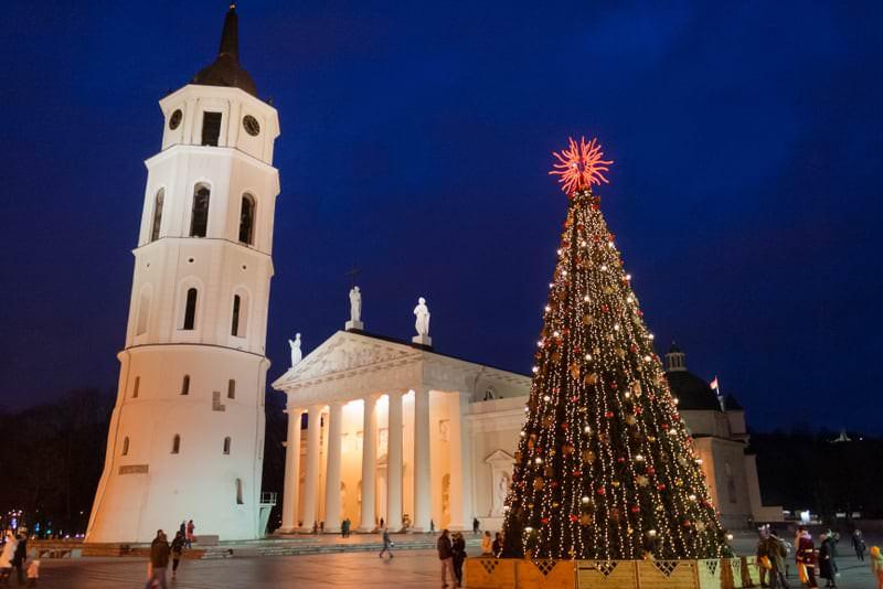 Christmas Market in Vilnius 2011