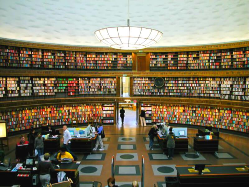 ストックホルム市図書館