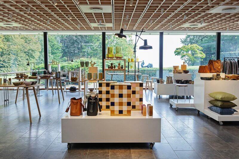 Louisiana is a modern art museum,  museum shop