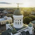 Helsingin kaupunki: tuomiokirkko. Kuva: Korppi Films Oy